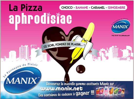 Pizza aphrodisiaque