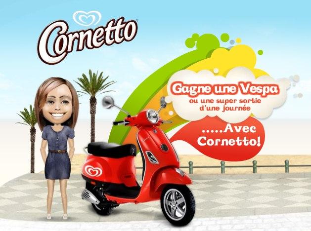 Cornetto-vespa