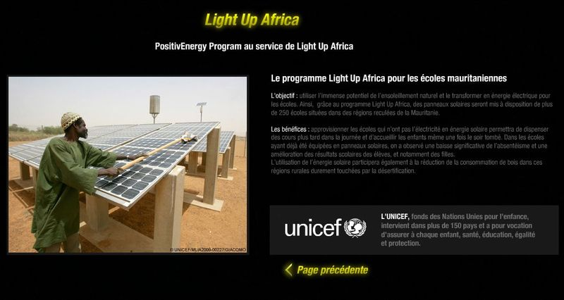 Light up for Africa