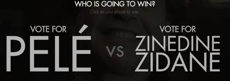 The big game ZZ vs Pelé