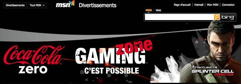 Gaming zone coca
