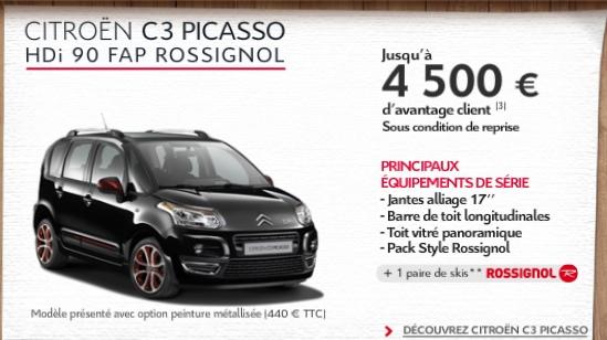 Citroën Rossignol promo