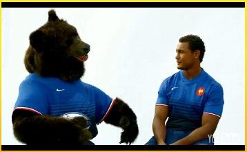 L'ours orangina et thierry dussautoir