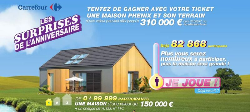 Carrefour jeux anniversaire 2011