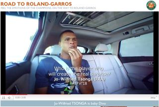 Road to Roland Garros Tsonga