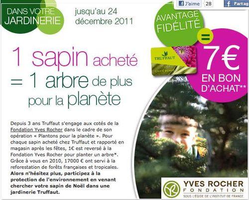 Partenariat noel Yves rocher