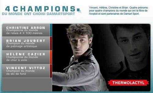 Damartsport 4 champions