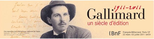 100 ans de Gallimard - ratp
