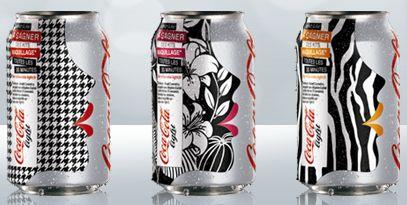 Coca light benefit canettes