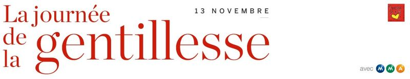 Journée gentillesse 2012