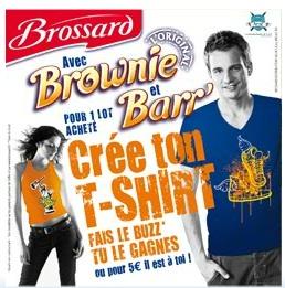 T-shirt Brossard Artiz