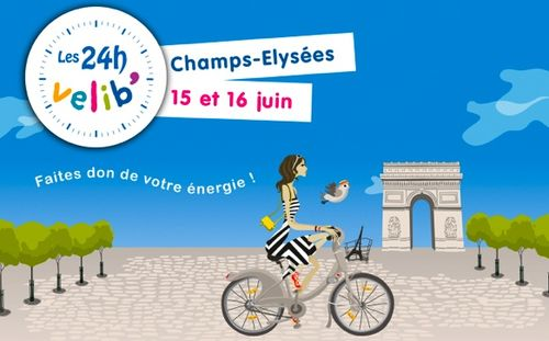 24h de vélib 2013