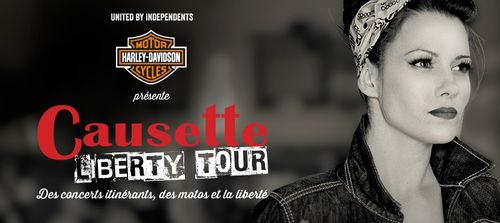 Causette Liberty Tour