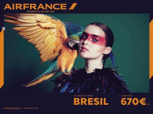 Airfrance-brésil affiche