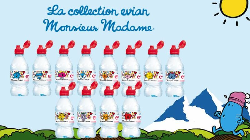 La collection evian monsieurmadame