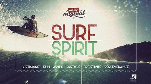 Melty et le surf spirit