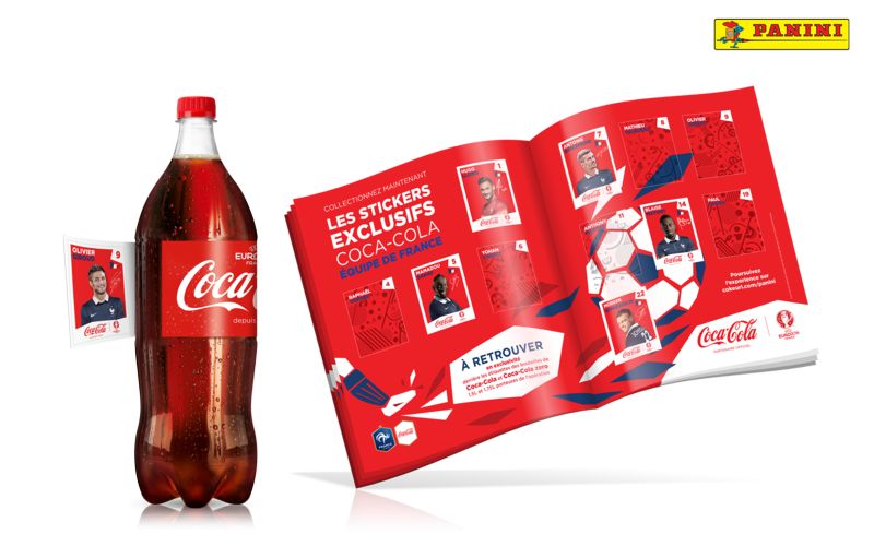 Album Panini collector Coca-Cola