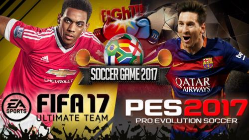 Fifa vs pes 2017