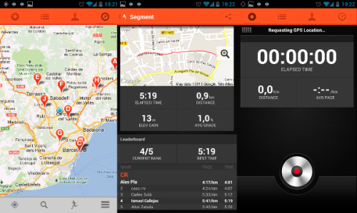 Strava android image